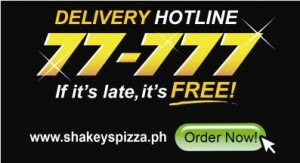 Shakey's Delivery