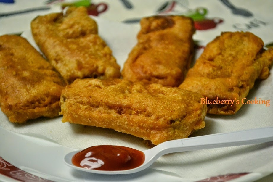 Bread Bajji - A tasty Fritter for snack time