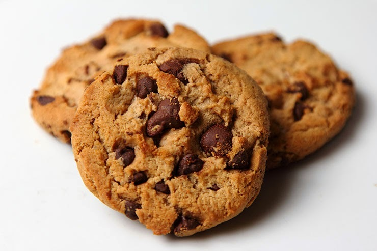Receta de Galletas de Chispas de Chocolate
