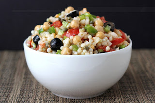 Whole Foods Feasting: Israeli Cousous Salad