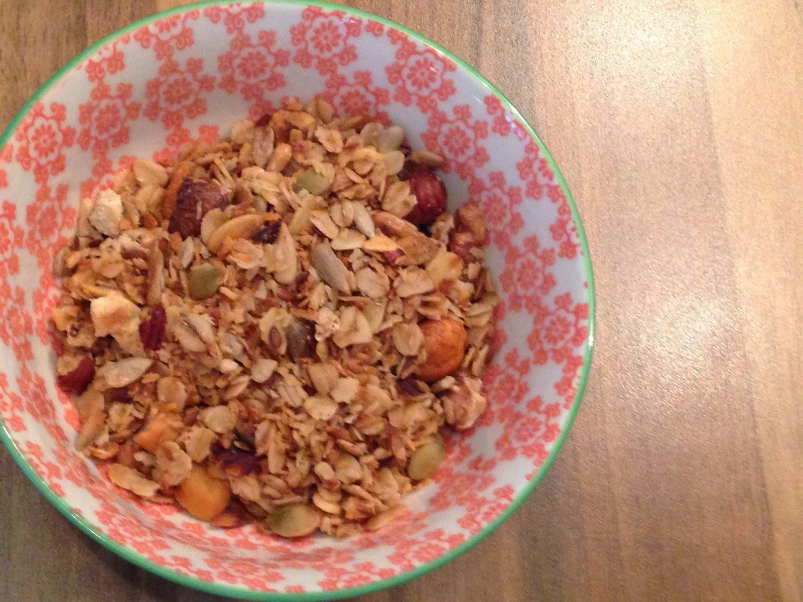 Nutty Coconut Granola - More filling than Weetabix I reckon!