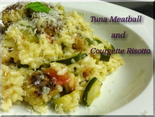 Tuna Meatball and Courgette Risotto