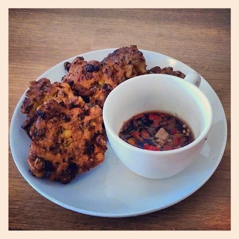 FABULOUS CHILLI CORN FRITTERS