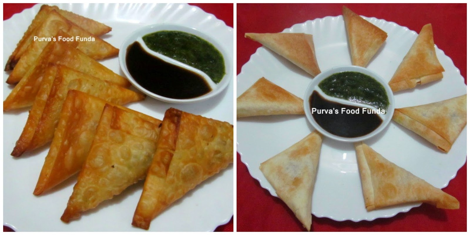 Patti Samosa ~Fried & Baked