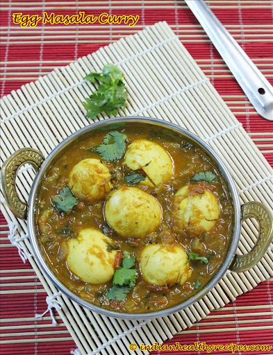Egg Masala Curry for Biryani,Chapathi,Pulao