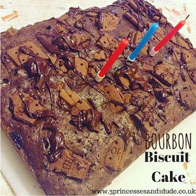 Recipe. Bourbon Biscuit Birthday Cake