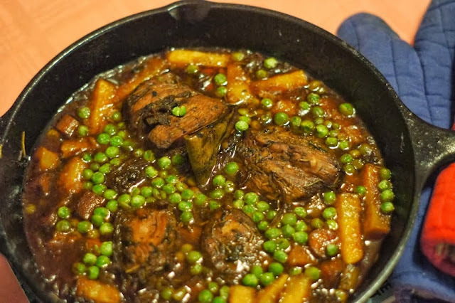 Poulet à la mode aka Chicken Pot Roast in Port # French Fridays with Dorie & Our Week's Menu