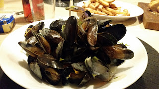 Moules mariniéres (Moules frites)