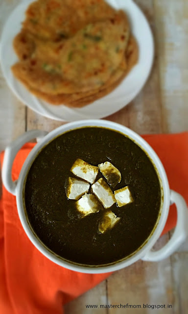 Palak Paneer | Cottage Cheese in Spinach Gravy |How to make Palak Paneer at home | Quick and Healthy Recipe | Side dish for Indian Flat Breads