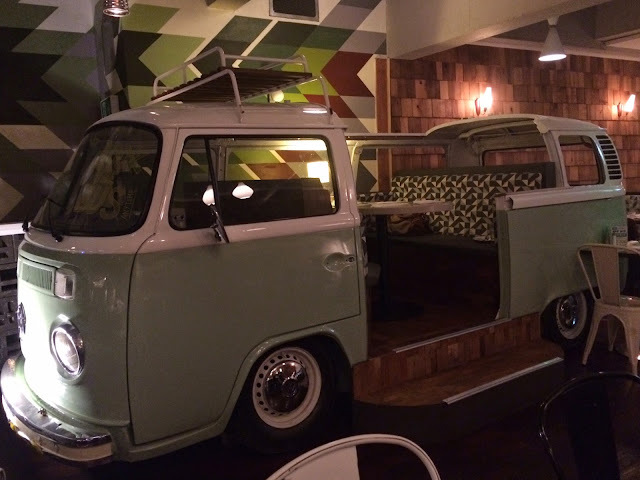 Dine out in a campervan! Restaurant review: Apple Jacks, Cardiff
