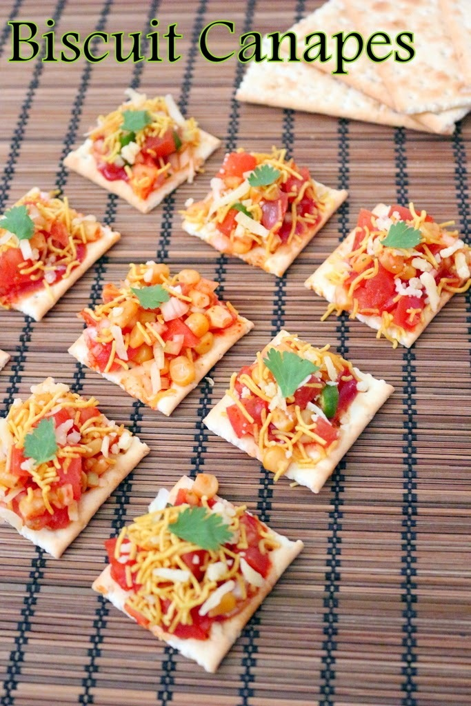 Recipe of Biscuit Canapes | How to Make Biscuit Canapes