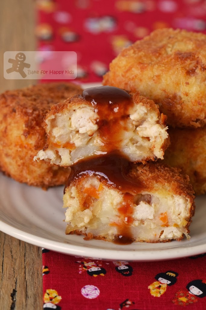 Japanese Potato Korokke (Croquette) コロッケ