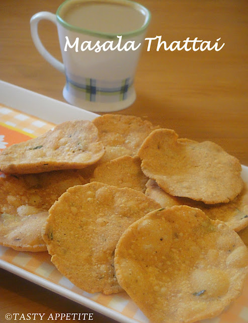 How to make Masala Thattai / Quick & Easy Snack Ideas: