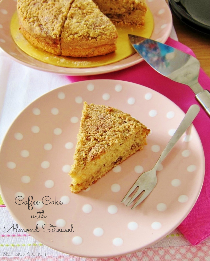 Coffee Cake with Almond Streusel (Updated Version)