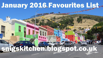 January 2016 Favourites List