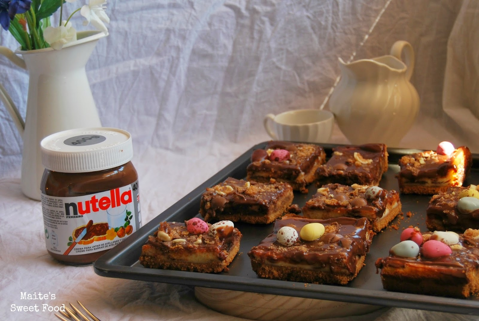 Nutella cheesecake bars!!!!!!!!!!!