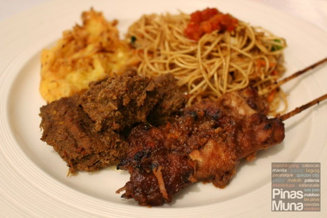 Indonesian Food Festival at the Nostalgia Dining Lounge, Oakwood Premier Manila