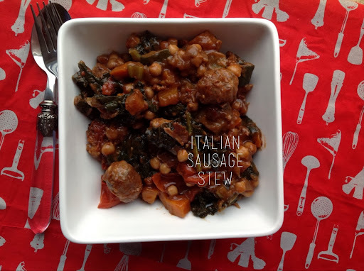 italian sausage and bean casserole
