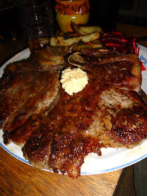 T-bone steak - good old american way