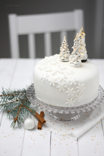 Fondant-Torte {Winter Wonderland}