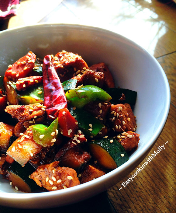 Stir-Fry Sesame Chicken (Healthy and Light)