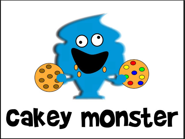 Cartoon Time - Cakey Monster