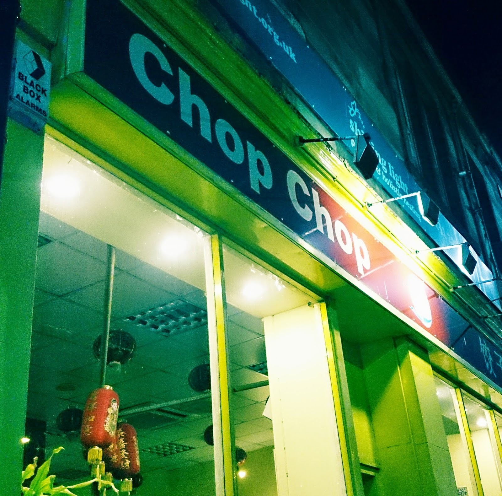 Review: Chop Chop (Haymarket), Edinburgh