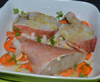 Red fish no forno com batatas assadas receitas mytaste for Red fish taste