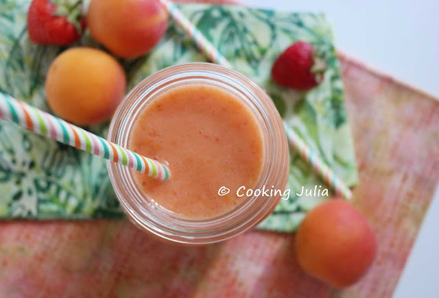 SMOOTHIE COCO-FRAISE-ABRICOT