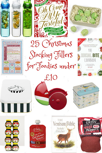 2015 Christmas Stocking Fillers for Foodies - 25 ideas under £10