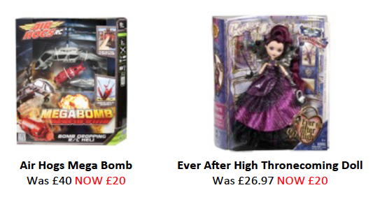 Get your Christmas shopping off to a great start with ASDA's flash toy sale !
