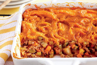 Sweet Potato Shepherd's Pies
