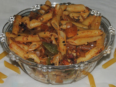 PENNE WITH BELL PEPPERS