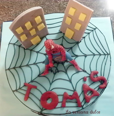 Tarta Spiderman (II)