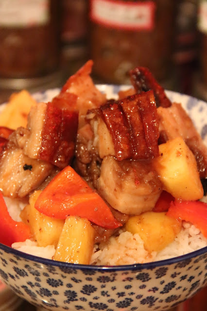 SWEET AND SOUR CRISPY BELLY PORK