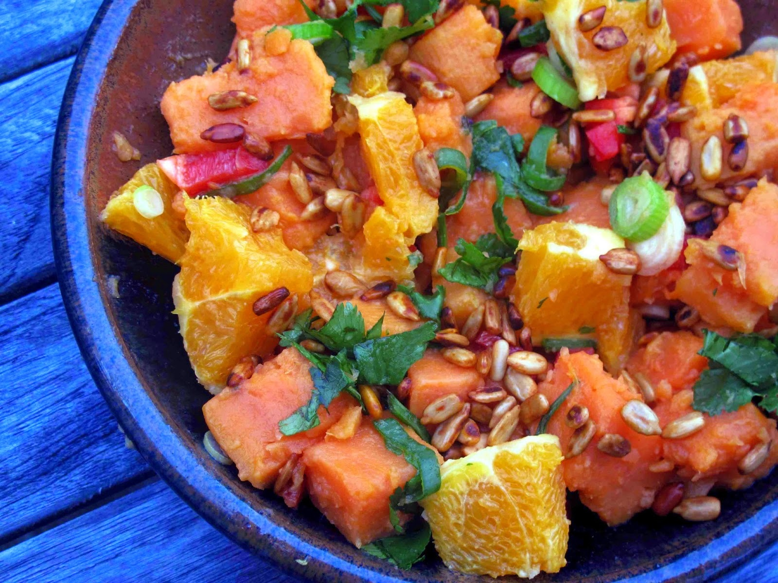 Spicy Kumara Salad