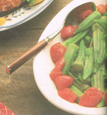 Sautéed Okra with Tomatoes and Herbs