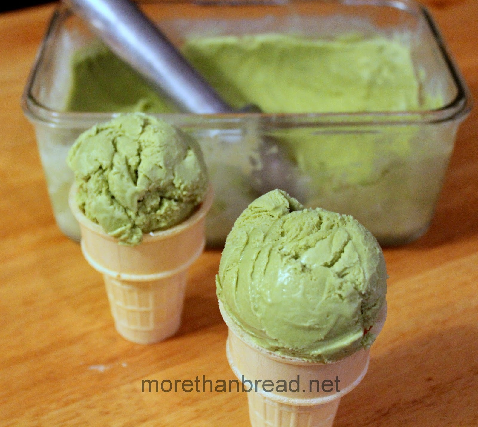 Matcha Ice Cream 綠茶雪糕