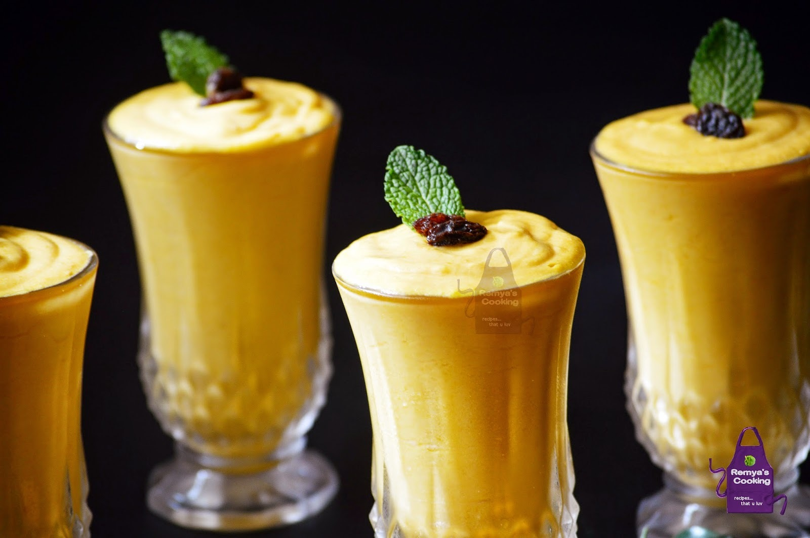Mango Mousse - No egg no gelatin