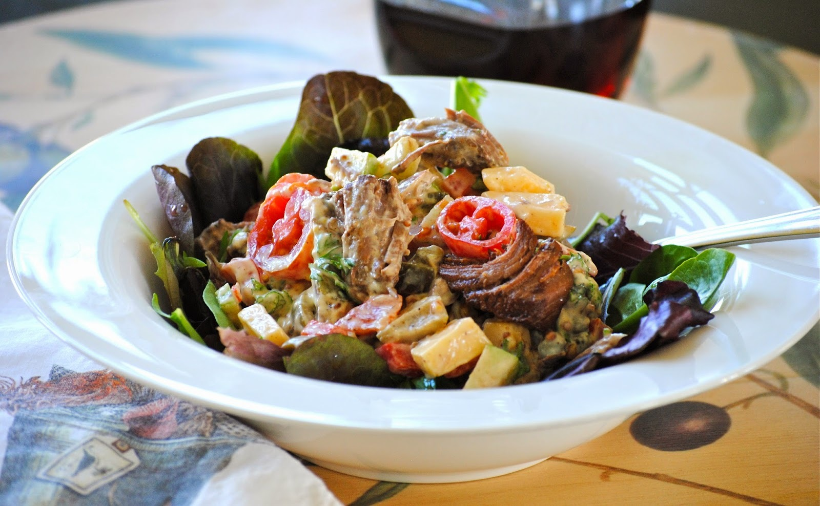 Better Late Than Never….FFWD ~ Next-Day Beef Salad