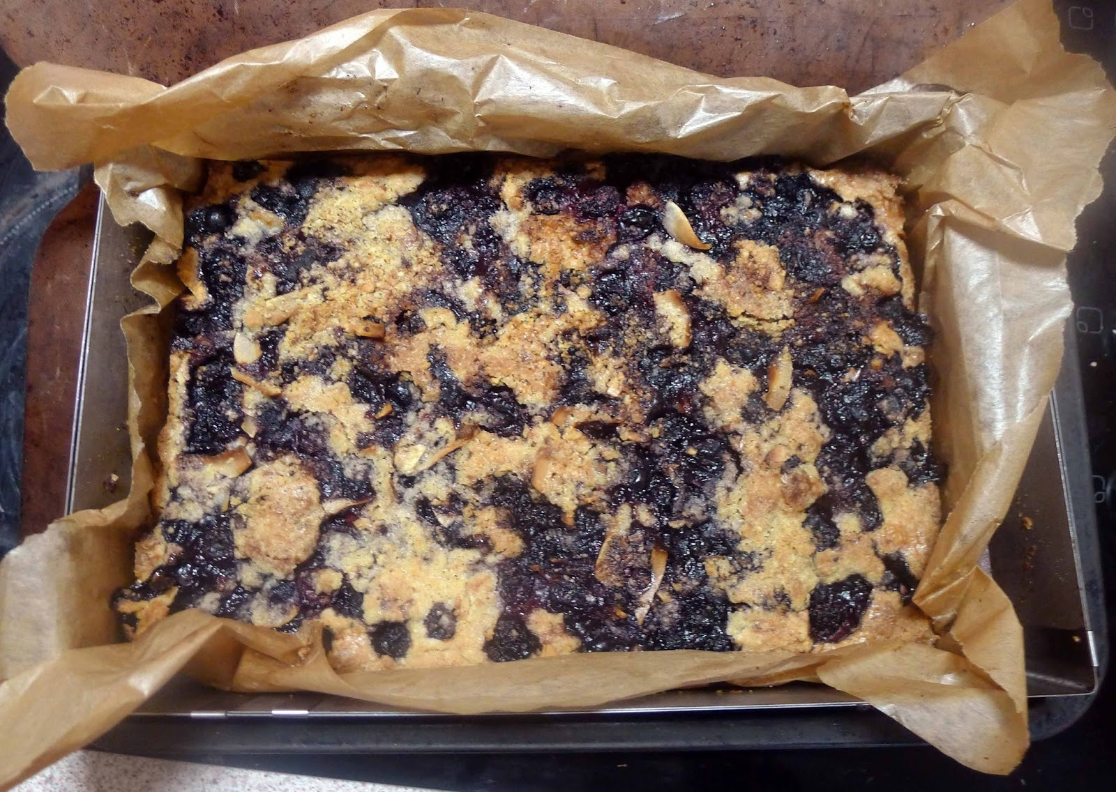 Blueberry Hazelnut Bars