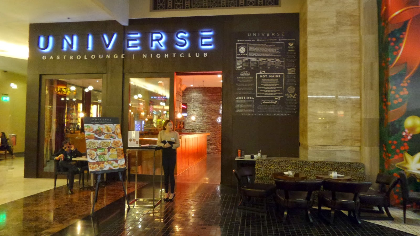 Eat Out and Party Hard at Universe Gastrolounge and Nightclub