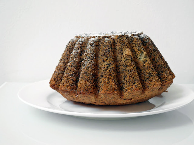 Babka z makiem - Piegusek / Cake with poppy seeds