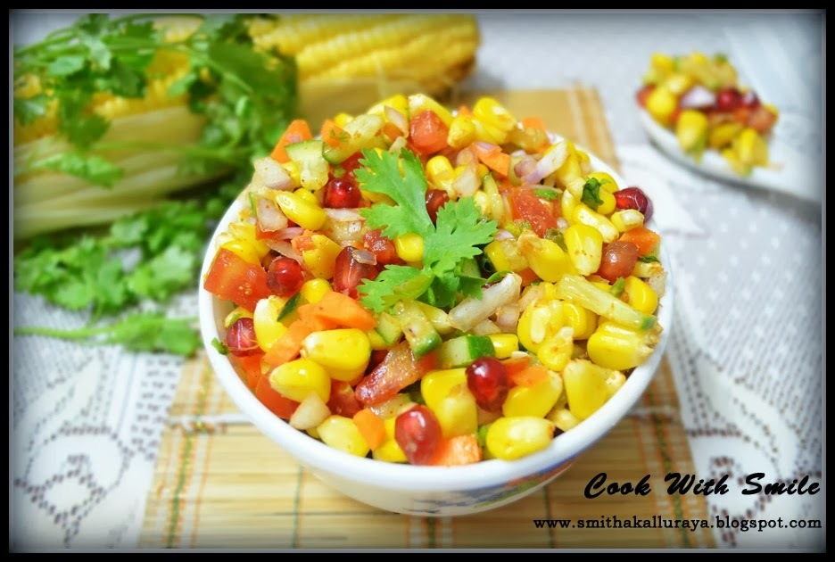 CORN CHAAT / CORN SALAD