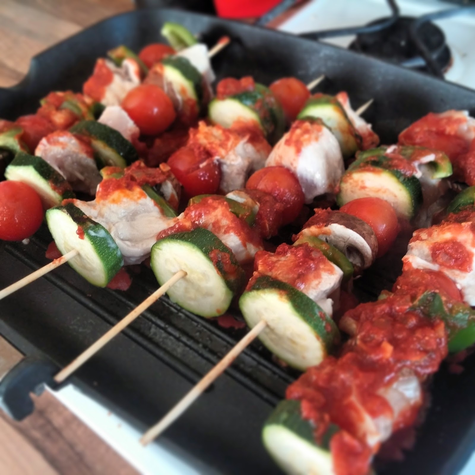 Recipe: Slimming World Syn Free Chicken Kebabs