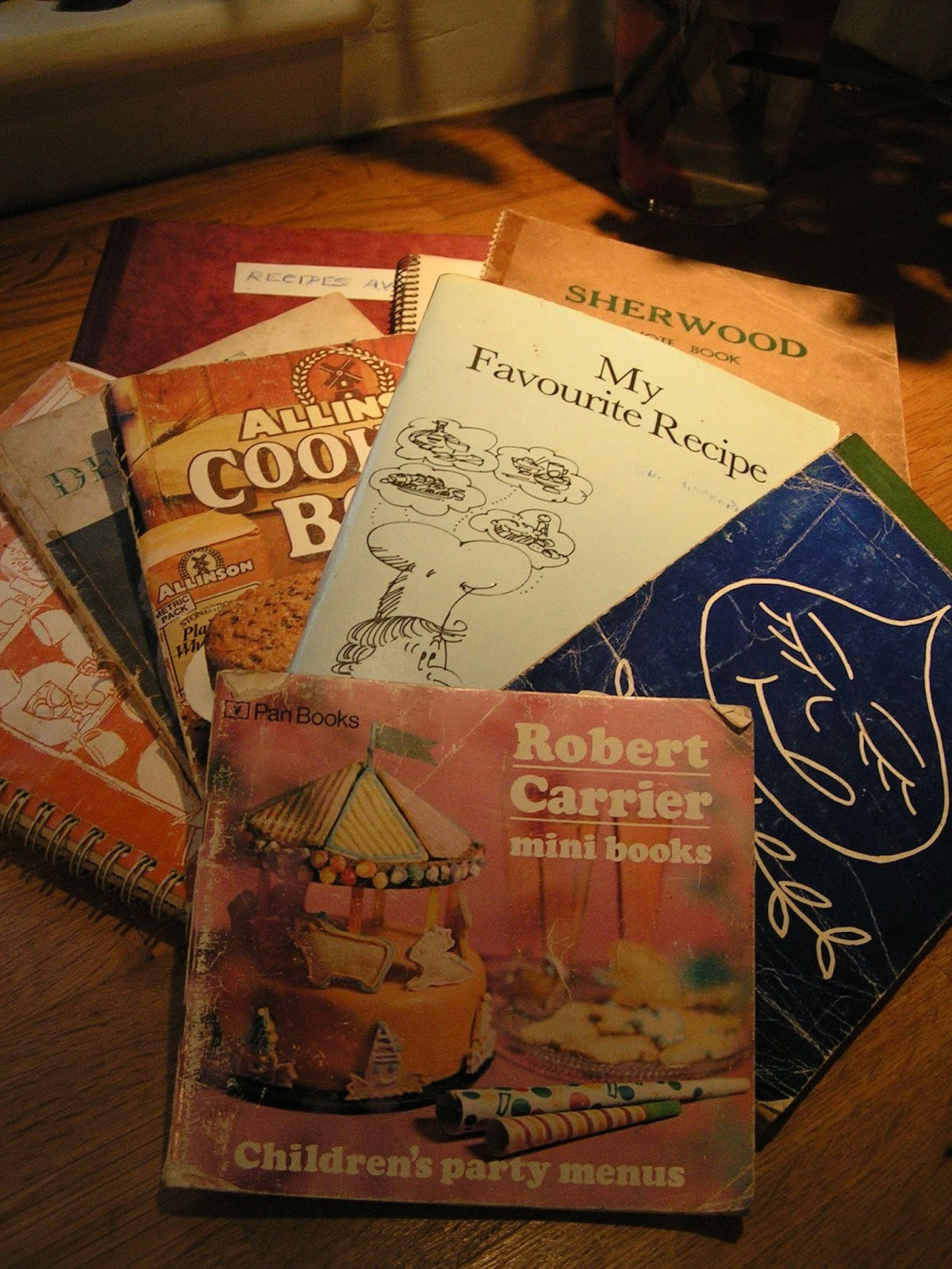 Old-fashioned cookbooks, bags of nostalgia and Boeuf a la movie - a random recipe