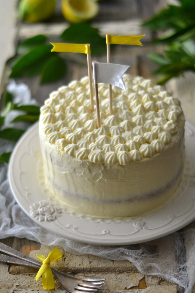 ♥ ♥ ♥ Lemon Lover's Dream Cake ♥ ♥ ♥