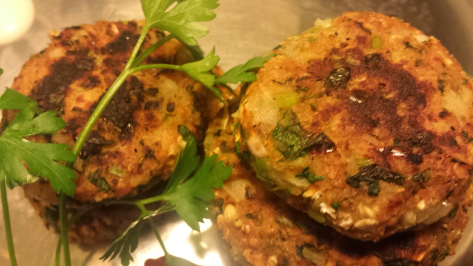 PARSLEY TIKKI/PATTIES/CUTLET