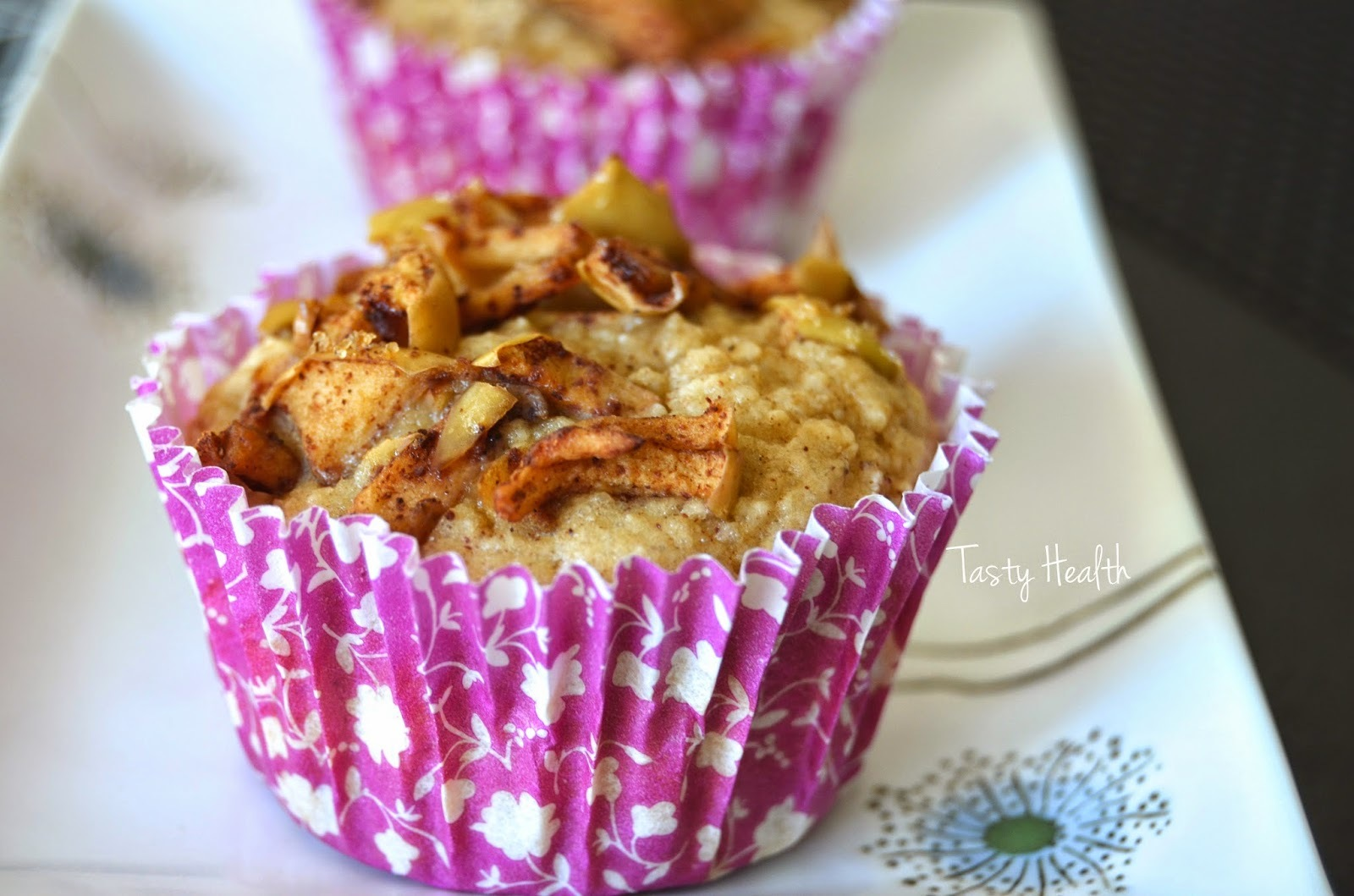 Supersaftiga äpple & kanelmuffins
