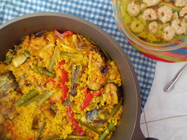 ARROZ Y ESTORNINO (pescado)